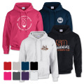 STANDARD HOODED SWEATSHIRT - Embroidered Left Chest