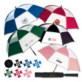 "MACH 1 VENTED UMBRELLA 66"" - Full Colour Imprint"