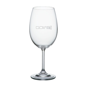 HOME WINE GLASS - Etched