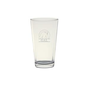 SPORT GLASS 16 OZ ETCHED