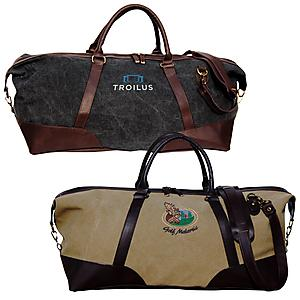 CLASSIC CANVAS DUFFEL BAG-Embroidered